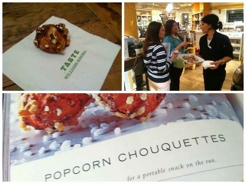 Popcorn Choquette deliciousness at Dominique Ansel's book signing at Williams-Sonoma. (Sara Tiano/Neon Tommy)