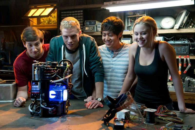 """Project Almanac"" follows a group of teenagers and their journey through a time machine (Guy D'Alema/ Paramount Pictures)"