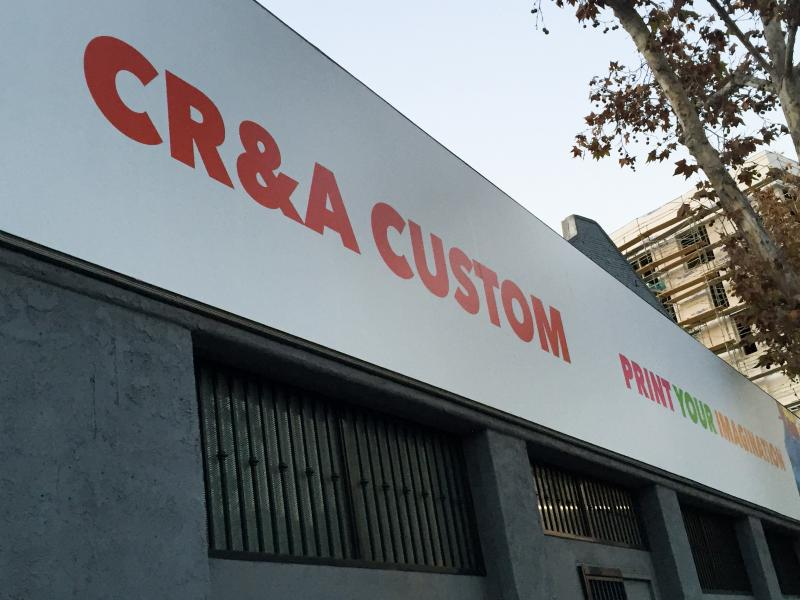 The CR&A office in downtown Los Angeles (Diana Lee/ Neon Tommy)