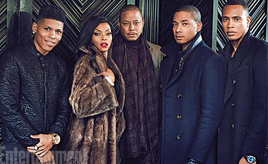 "The cast of ""Empire"" (Twitter/ @EW)"