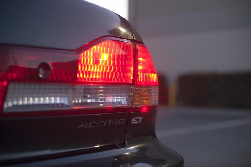 "Rachel's Accord badge has jumped ship (Amou ""Joe"" Seto/Neon Tommy)"