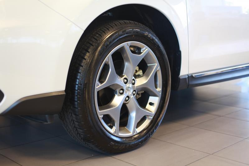 "The Subaru Forester 2.5i Touring's 18 inch alloy wheels (Amou ""Joe"" Seto/Neon Tommy-"
