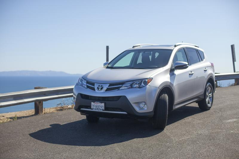 "There really isn't anything special about the RAV4's styling. (Amou ""Joe"" Seto/Neon Tommy)"