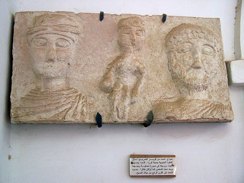 Inside the Bani Walid Museum in Libya. (Creative Commons)