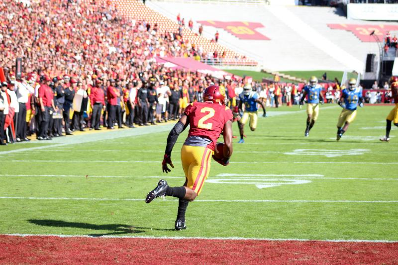 USC is the Pac-12 Conference South champion (courtesy of Daniel Tran)
