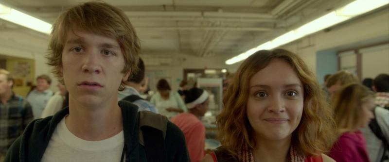 "Thomas Mann and Olivia Cooke in ""Me and Earl and The Dying Girl"" (Fox Searchlight Pictures)."
