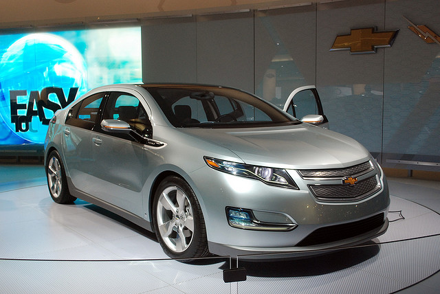 A Chevy Volt (Creative Commons).