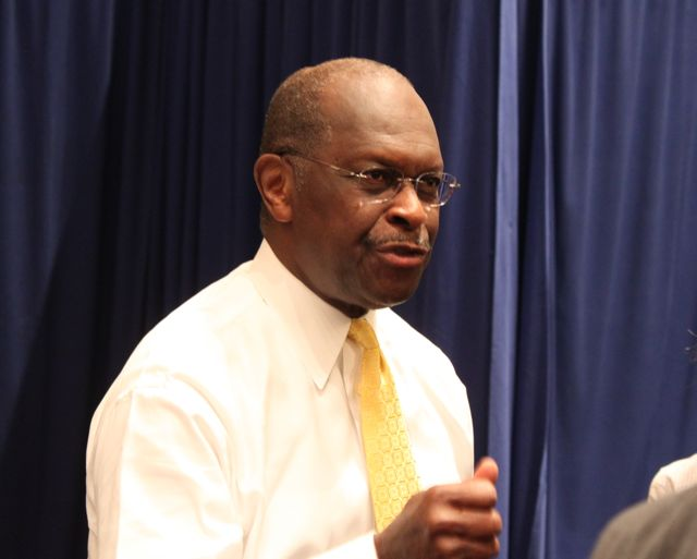 Herman Cain Not Dancing / Tom Dotan