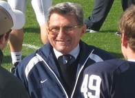 Paterno was the last bastion of hope in the corrupt world of college sports. (Wikimedia Commons)