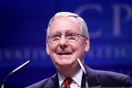 Mitch McConnell at CPAC
