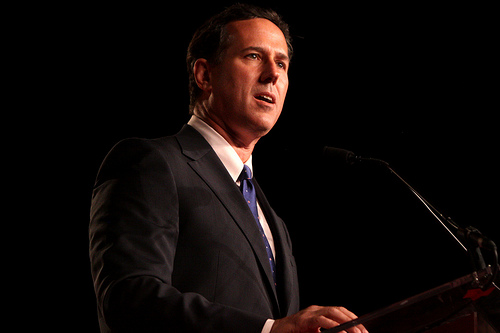 Rick Santorum (Photo courtesy of Gage media; Creative Commons)