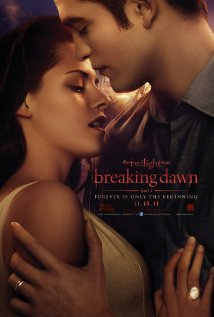 """Twilight Breaking Dawn"" movie poster (courtesy of Summit entertainment)"