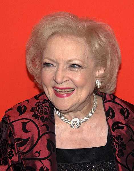 Betty White stops by Sunday at the Festival of Books. (creative commons)