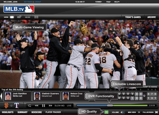 Services like MLB.TV allow sports fans to watch any game from anywhere. (MLB.TV/Facebook)