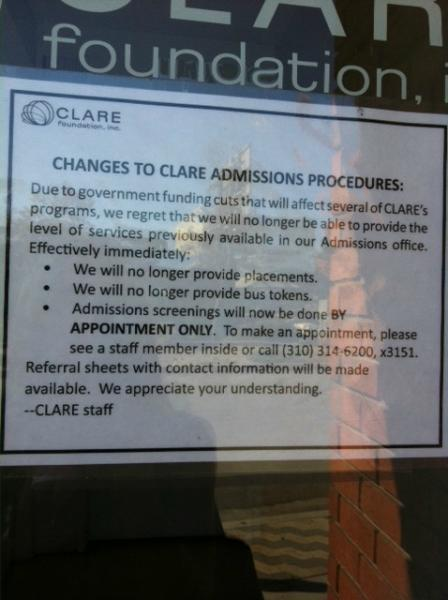 The Clare Foundation undergoes changes (Photo by Sophie Elkus)