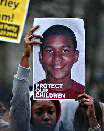 Picture of Trayvon Martin (Creative Commons)