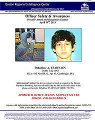 Wanted poster for 19-year-old Tsarnaev. (Flickr Creative Commons)