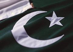 Pakistan flag (Creative Commons)