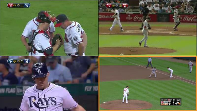 Four games on MLB.tv (Nick Burton)