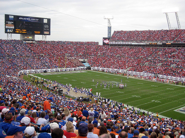 The undefeated Gators will be tested in Jacksonville. (bjsmith/Creative Commons)