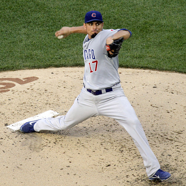 Matt Garza is the effective ace of a largely toothless Cubs rotation. (dbking/Creative Commons)