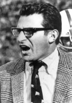 Joe Paterno in 1969. (pennstatelive/Creative Commons)