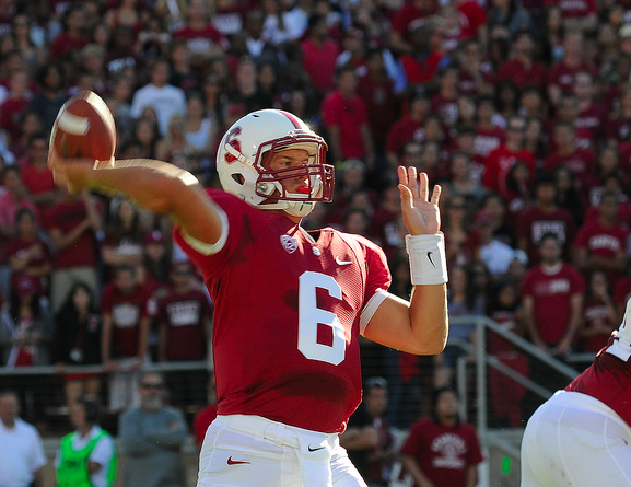 It was not Josh Nunes' best day, but Stanford got the win. (Jerry Ting/NT)