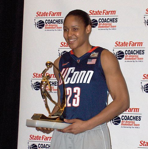 Lynx forward Maya Moore. (Sphilbrick/Wikimedia Commons)