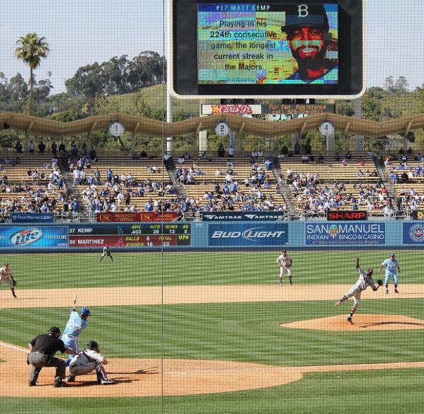 Empty Dodger Stadium (Shotgun Spratling/Neon Tommy)