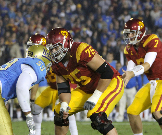 USC OT Matt Kalil (Shotgun Spratling)