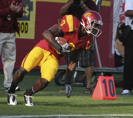 USC receiver Marqise Lee (Mac Carlile/Neon Tommy)
