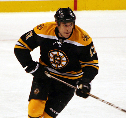 "Lucic has been under fire for taking ""direct aim"" at Ryan Miller. (slidingsideways/Creative Commons)"