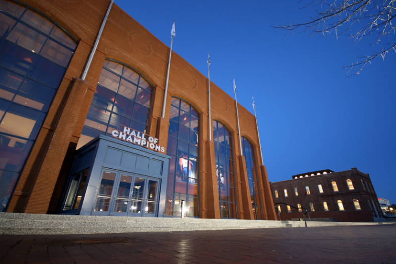 All major sports run through NCAA headquarters in Indianapolis. (Intiaz Rahim/Creative Commons)