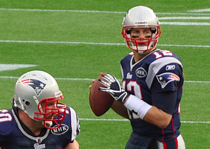 Despite a pair of INTs, Tom Brady is heading to his fifth Super Bowl. (Jack Newton/Creative Commons)