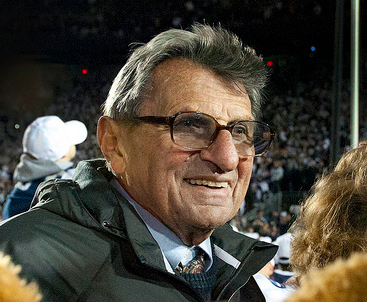 Joe Paterno passed away at the age of 85. (pennstatelive/Creative Commons)