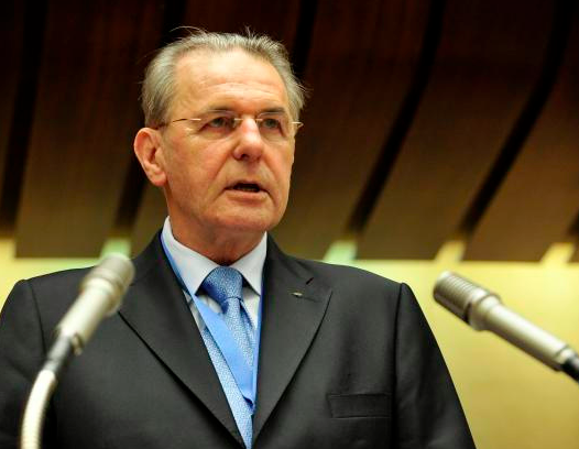 Rogge gave little indication as to the progress of revenue negotiations between the IOC and USOC. (UN Photo / Jean-Marc Ferré)