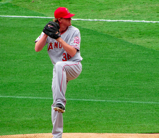 Damn it, Jered Weaver. (rocoe/Creative Commons)