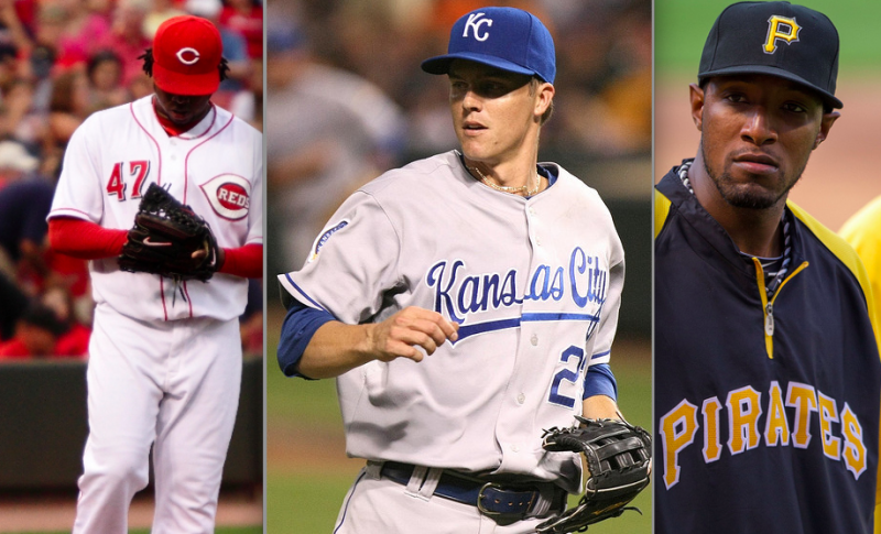 Pick one: Cueto, Greinke or McDonald? (Keith Allison/Creative Commons)