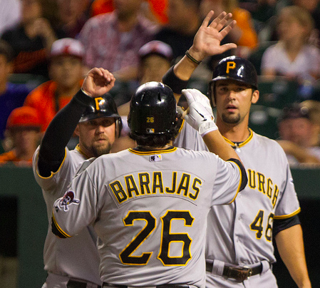 McGehee, Barajas and Jones remain legitimate starters. (Keith Allison/Creative Commons)