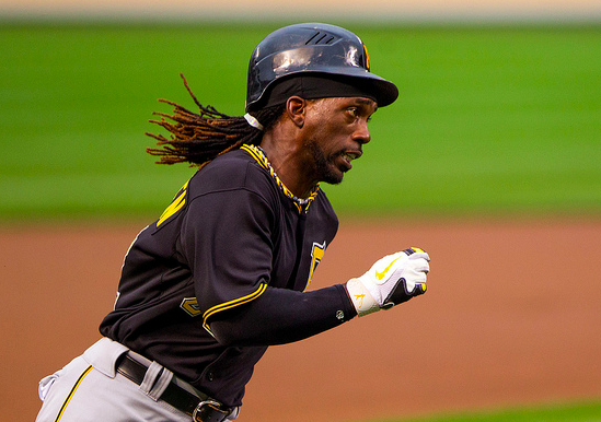 Why are teams pitching to McCutchen? (Keith Allison/Creative Commons)