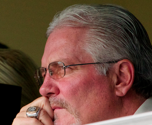 Giants GM Brian Sabean has made one move that has become a surprising success. (David Gallagher/Creative Commons)
