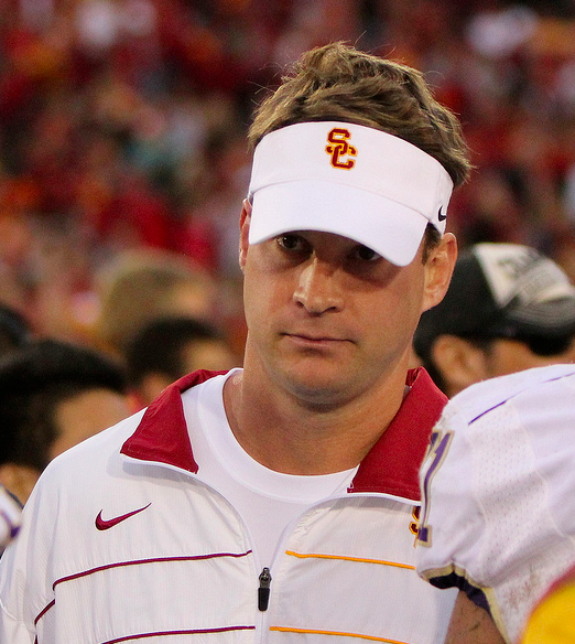 Coach Kiffin discussed Wolf's short-lived suspension Thursday morning. (James Santelli/NT)