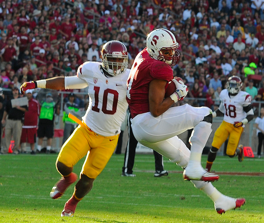 Stanford outgained USC 417 yards to 280. (Jerry Ting/NT)
