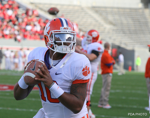 Can Tajh Boyd help Clemson pick up a big upset? (Parker Anderson/Creative Commons)