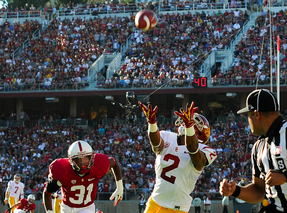 USC has been less productive through the air than they were last year. (Jerry Ting/NT)