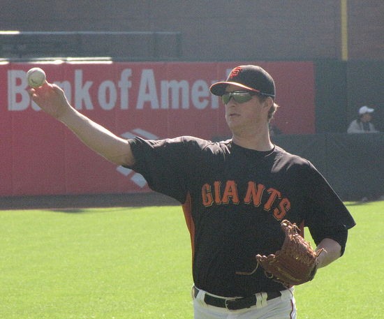 Matt Cain starts Game 1 for the Giants on Saturday. (Dinur Blum/Creative Commons)