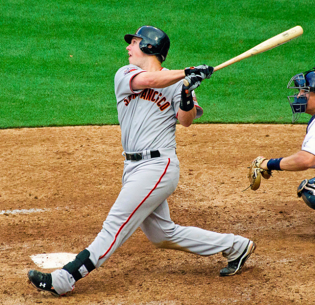 Catcher Buster Posey is a leading MVP candidate. (SD Dirk/Creative Commons)