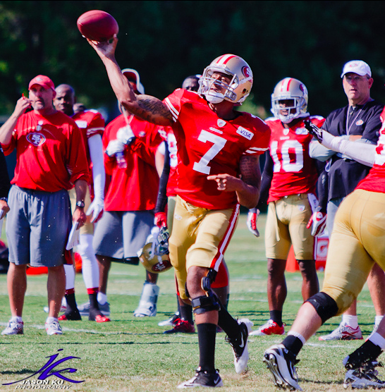 Kaepernick is a dual threat for the Niners. (Jason Ku/Creative Commons)