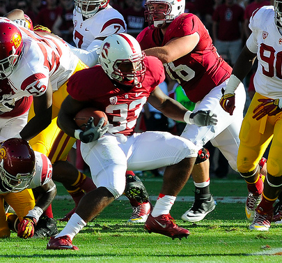 Stepfan Taylor and the Cardinal look to stay in the Pac-12 race. (Jerry Ting/NT)
