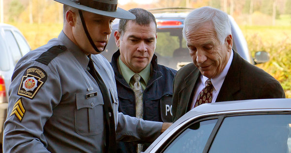 Jerry Sandusky was charged last year with sexual abuse of minors. (marsmet551, Creative Commons)